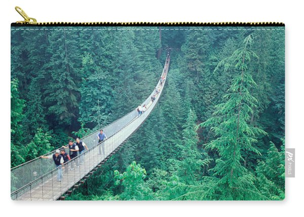 Capilano Bridge, Suspended Walk Carry-all Pouch