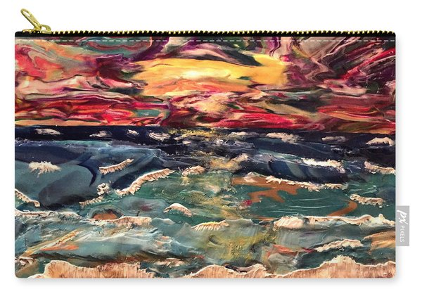 Capricious Sea Carry-all Pouch