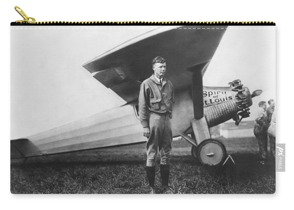 Captain Charles Lindbergh Carry-all Pouch