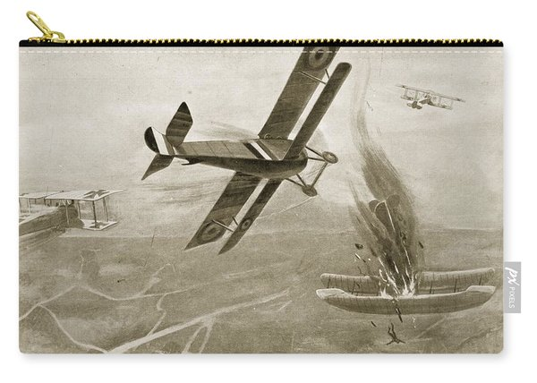 Captain Hawkers Aerial Battle Carry-all Pouch