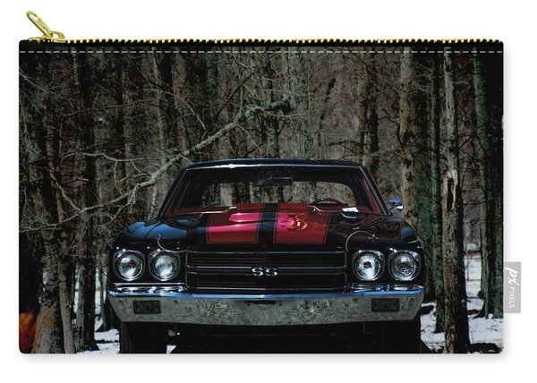 Car Art Chevy Chevelle Ss Hdr Carry-all Pouch