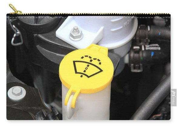 Car Engine Details Carry-all Pouch
