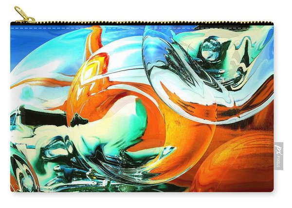 Car Fandango - Modern Art Carry-all Pouch