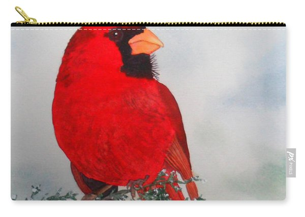 Cardinal Merry Christmas Carry-all Pouch