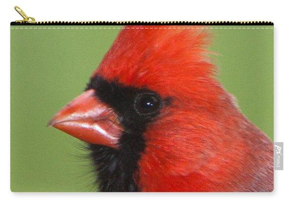 Cardinal Portrait Carry-all Pouch