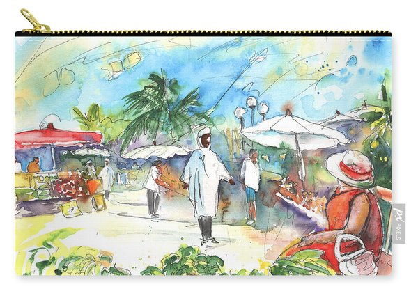 Caribbean Market Carry-all Pouch