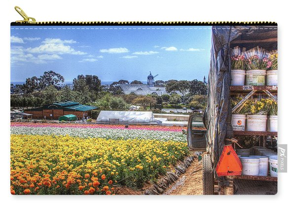 Carlsbad Flower Fields Carry-all Pouch