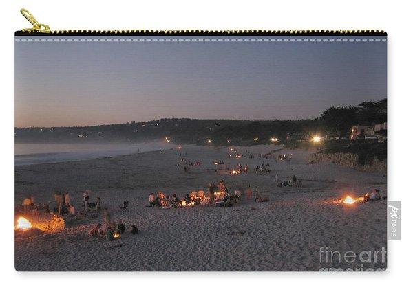 Carmel Beach Bonfires Carry-all Pouch