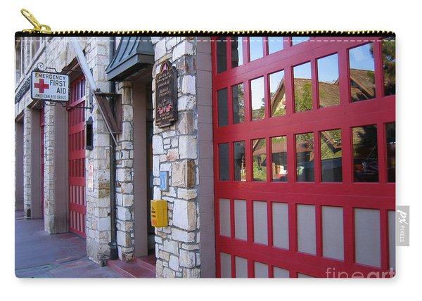 Carmel By The Sea Fire Station Carry-all Pouch