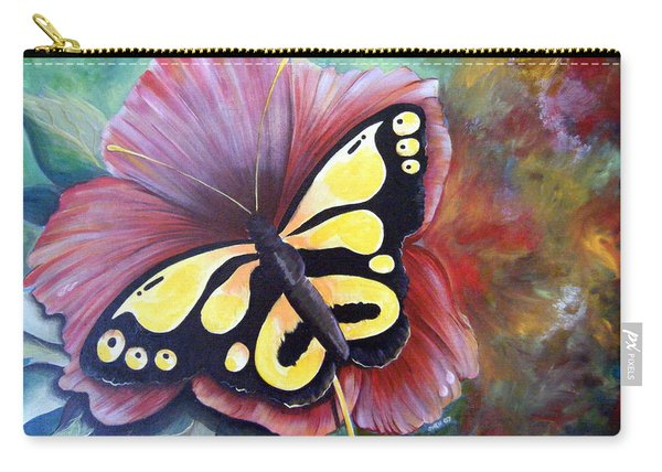 Carnival Butterfly Carry-all Pouch