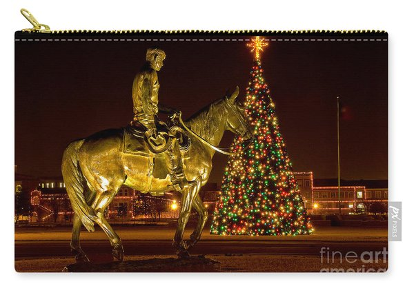 Carry-all Pouch featuring the photograph Carol Of Lights by Mae Wertz