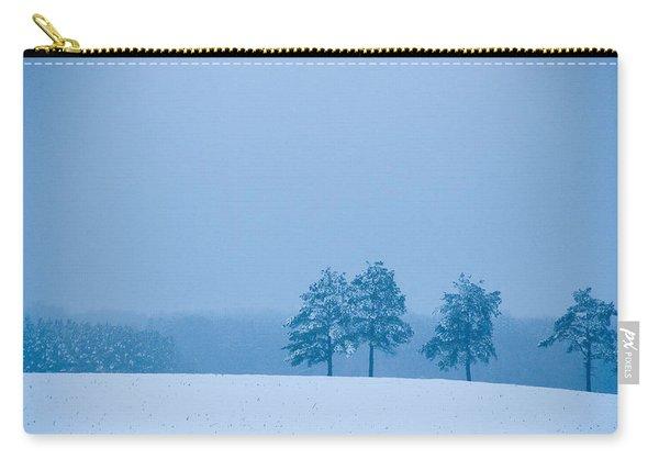 Carolina Snow Carry-all Pouch