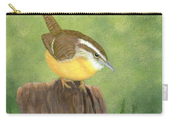 Carolina Wren Carry-all Pouch