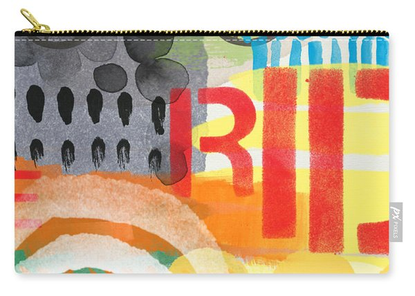 Carousel #6 Ride- Contemporary Abstract Art Carry-all Pouch