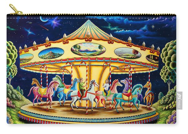 Carousel Dreams 3 Carry-all Pouch