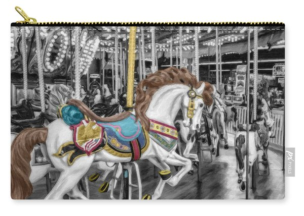 Carousel Horse Equ168125 Carry-all Pouch