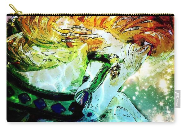 Carousel Sparkle Carry-all Pouch