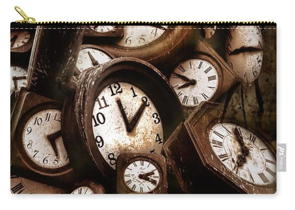 Carpe Diem - Time For Everyone Carry-all Pouch