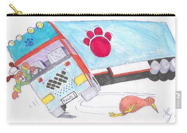 Cartoon Truck Lorry Carry-all Pouch