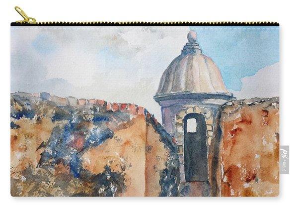 Castillo De San Cristobal Sentry Door Carry-all Pouch