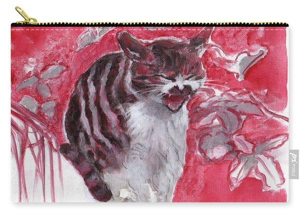 Cat Complains  Carry-all Pouch