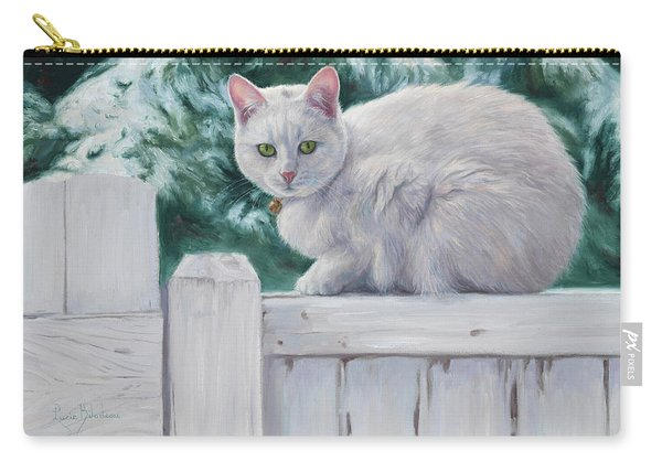 Cat On A Fence Carry-all Pouch