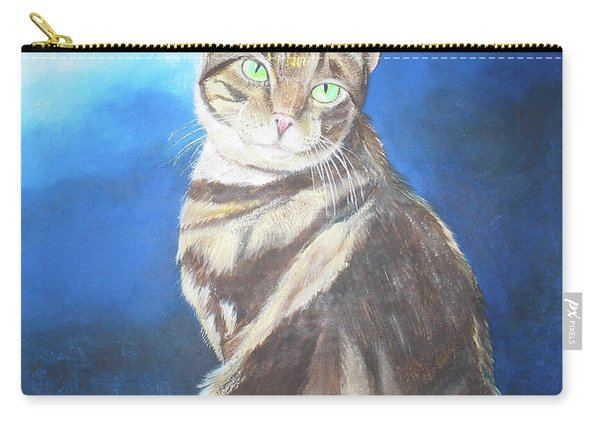 Cat Profile Carry-all Pouch