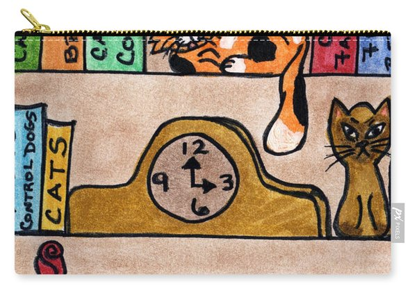 Cat Shelves Carry-all Pouch