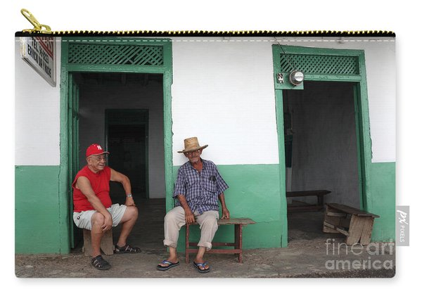 Catching Up In Panama Carry-all Pouch