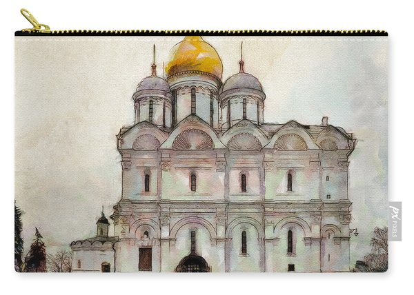 Cathedral Of The Archangel Carry-all Pouch