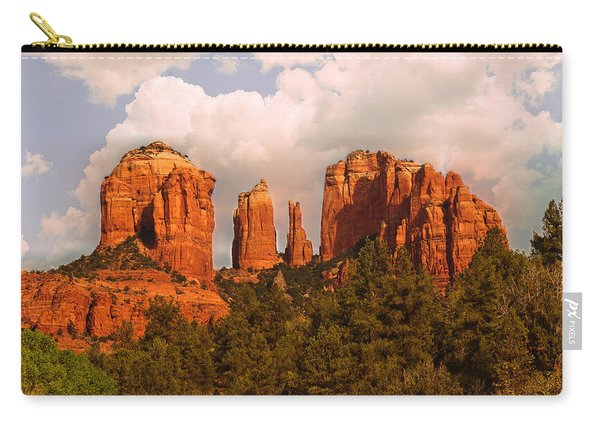 Cathedral Rock Sunset Carry-all Pouch