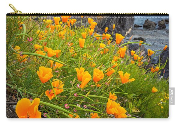 Cattle Point Poppies Carry-all Pouch