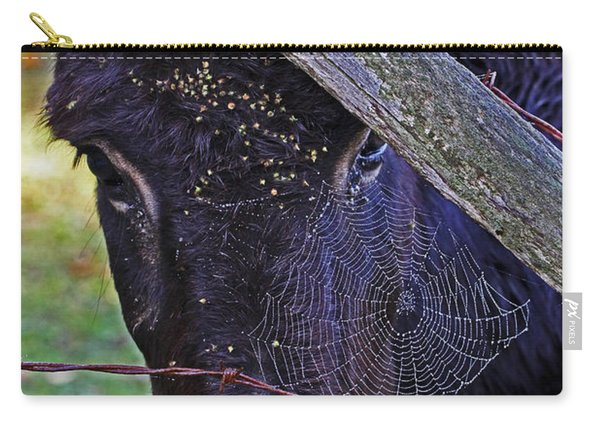 Caught In The Web Carry-all Pouch