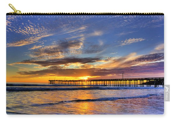 Cayucos Sunset Carry-all Pouch