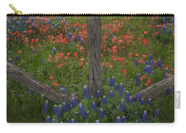 Cedar Fence In Llano Texas Carry-all Pouch