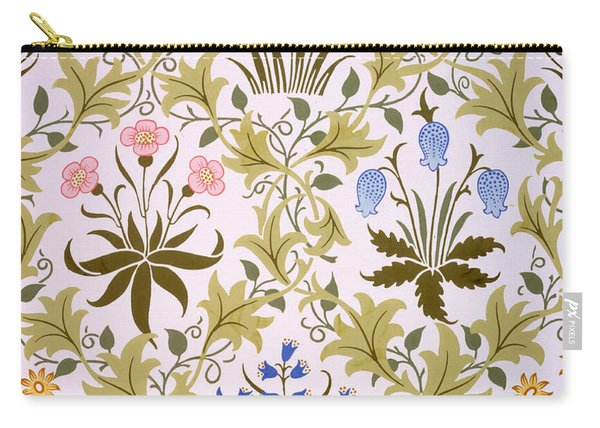 Celandine Wallpaper Design Carry-all Pouch