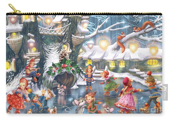 Celebration On Ice Carry-all Pouch