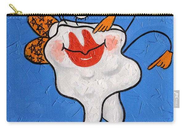 Celebrity Tooth Implant Dental Art By Anthony Falbo Carry-all Pouch