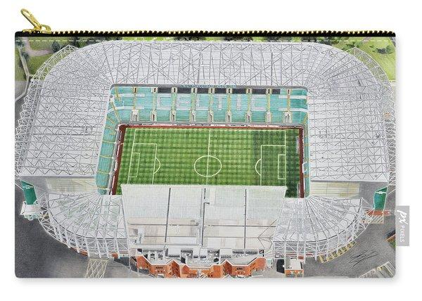 Celtic Park Stadia Art - Celtic Fc Carry-all Pouch