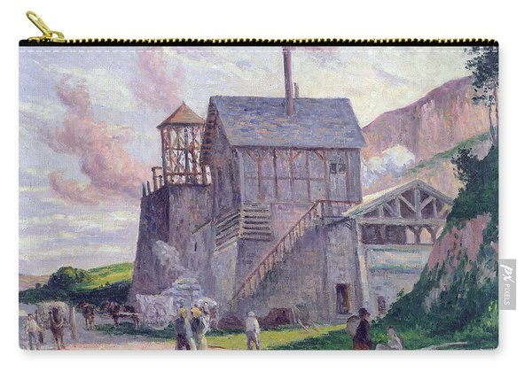 Cement Factory At Vermenton Carry-all Pouch