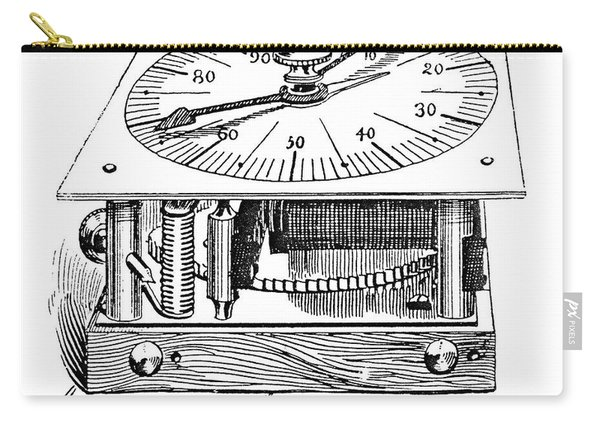 Census Machine, 1890 Carry-all Pouch