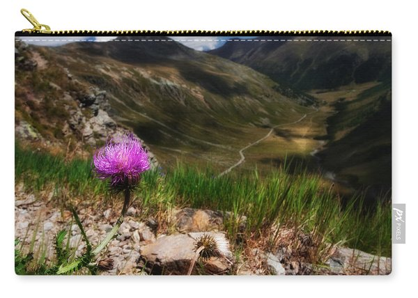 Centaurea Carry-all Pouch
