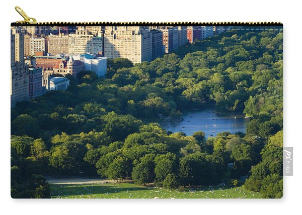 Carry-all Pouch featuring the photograph Central Park by Brian Jannsen