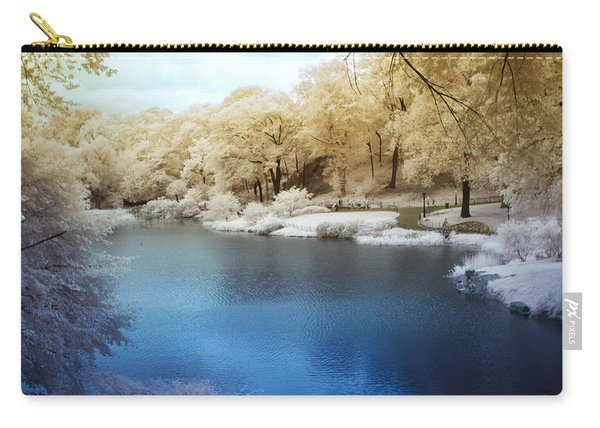 Central Park Lake Infrared Carry-all Pouch