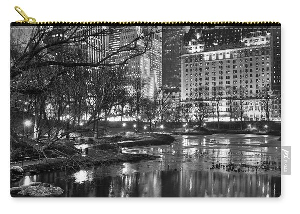 Central Park Lake Night Carry-all Pouch
