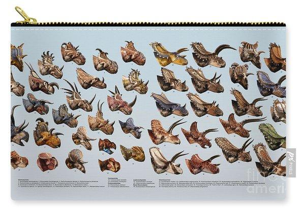 Ceratopsian Cornucopia Carry-all Pouch
