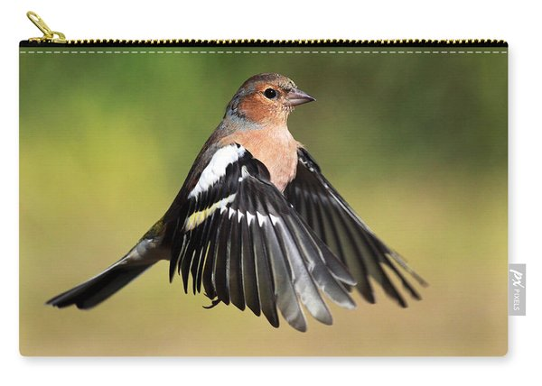 Chaffinch In Flight Carry-all Pouch