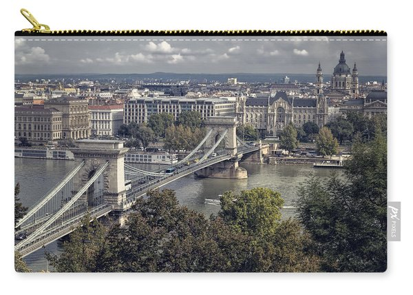 Chain Bridge Gresham Palace And Basilica Carry-all Pouch