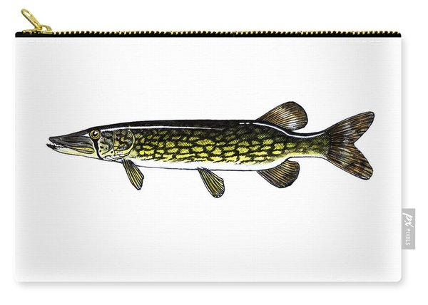 Chain Pickerel Carry-all Pouch
