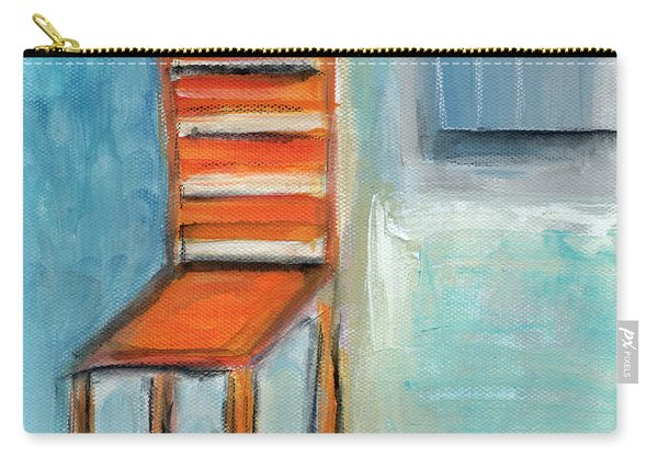 Chair By The Window- Painting Carry-all Pouch